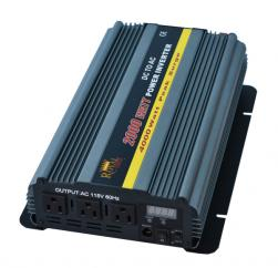 2000 Watt Power Inverters 24 Volt DC To 110 Volt AC