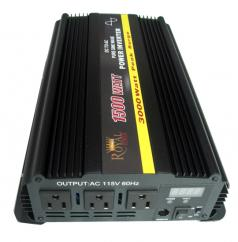 Pure Sine 1500 Watt Power Inverter 12 Volt DC to 120V AC