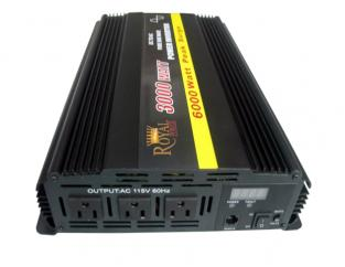 3000 Watt Pure Sine Wave DCAC Power Inverter 12Volt to 120Volt