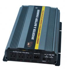 2000 Watt Power Inverter Charger 12 Volt DC To 110 Volt AC