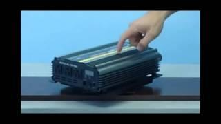 3000 Watt 24 Volt DC to 110 Volt AC Power Inverter